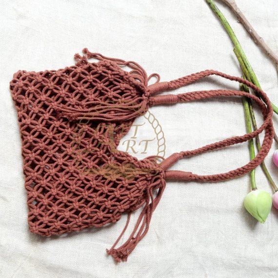 Túi xách Macrame CHB11